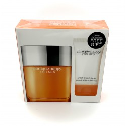 CLINIQUE HAPPY FOR MEN COLOGNE SPRAY GIFTSET